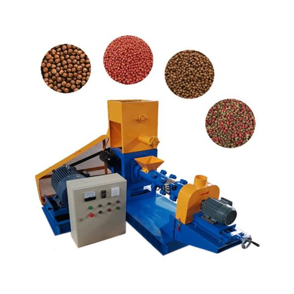 Best selling automatic floating fish prawn feed making machinery extruded fish feed