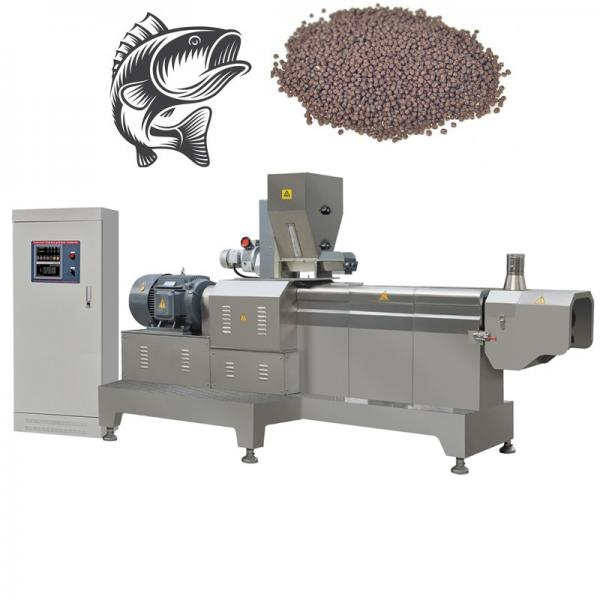 Automatic Single Type Extruder Floating Fish Feed Production Line Equipment