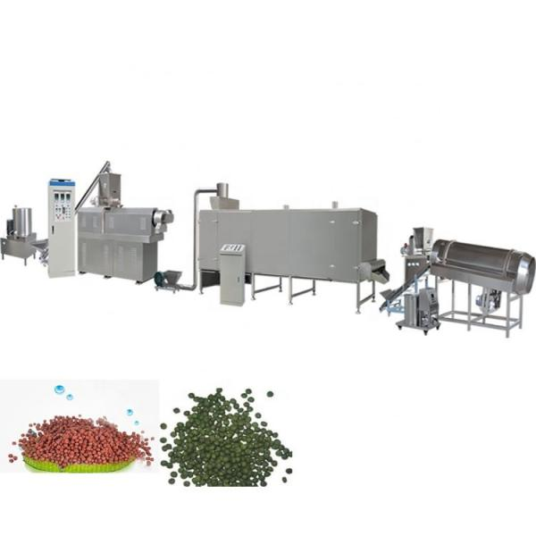Fish Feed Manufacturing Process Floating Fish Feed Extruder Machine